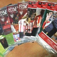 Coleccionismo deportivo: LOTE REVISTA OFICIAL ATHLETIC CLUB DE BILBAO Nº 29-30-31-32-33-35-36-37-38-39-40 2011-2012-2013. Lote 56900986
