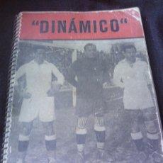 Coleccionismo deportivo: ~~~~ INTERESANTE LIBRO DE FUTBOL - DINAMICO - AÑO 1956 ~~~~. Lote 56983060