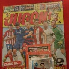Coleccionismo deportivo: REVISTA JUGON 114 SIN ABRIR (PRECINTADA). Lote 122321963