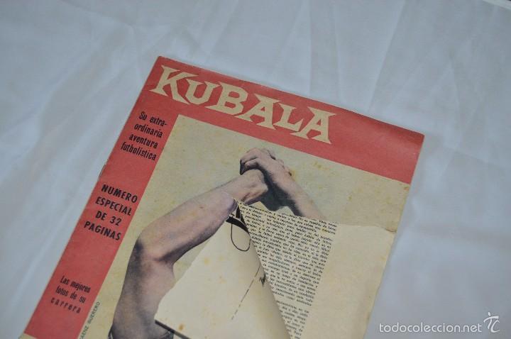 Coleccionismo deportivo: Revista BARCA - BARÇA - Número especial monográfico de KUBALA - 1961 - Foto 2 - 57107479