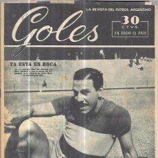 Coleccionismo deportivo: GOLES. LA REVISTA DEL FUTBOL ARGENTINO. AÑO II. Nº88. FEBRERO DE 1950.. Lote 57158792