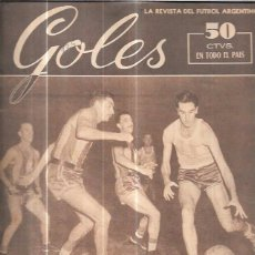 Coleccionismo deportivo: GOLES. LA REVISTA DEL FUTBOL ARGENTINO. AÑO III. Nº125. OCTUBRE DE 1950.. Lote 57159215