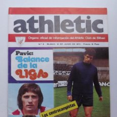 Coleccionismo deportivo: ATHLETIC DE BILBAO, REVISTA OFICIAL NÚMERO 6, BALANCE DA LA LIGA, 1973. Lote 57160723