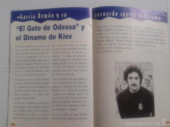 Coleccionismo deportivo: COLD - PROGRAMA OFICIAL MIERCOLES 6 DE ENERO 1999 **REAL MADRID C.F. - U.D.SALAMANCA - Foto 9 - 43236042