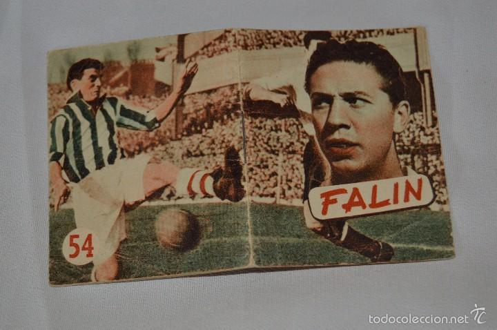 FALÍN NÚM. 54 - EDITORIAL DEPORTIVA FHER - LIBRITO 18 PÁGINAS CON ILUSTRACIONES - 7 X 5,5 CM. (Coleccionismo Deportivo - Revistas y Periódicos - otros Fútbol)