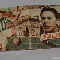 Coleccionismo deportivo: FALÍN NÚM. 54 - EDITORIAL DEPORTIVA FHER - LIBRITO 18 PÁGINAS CON ILUSTRACIONES - 7 X 5,5 CM.. Lote 57277826