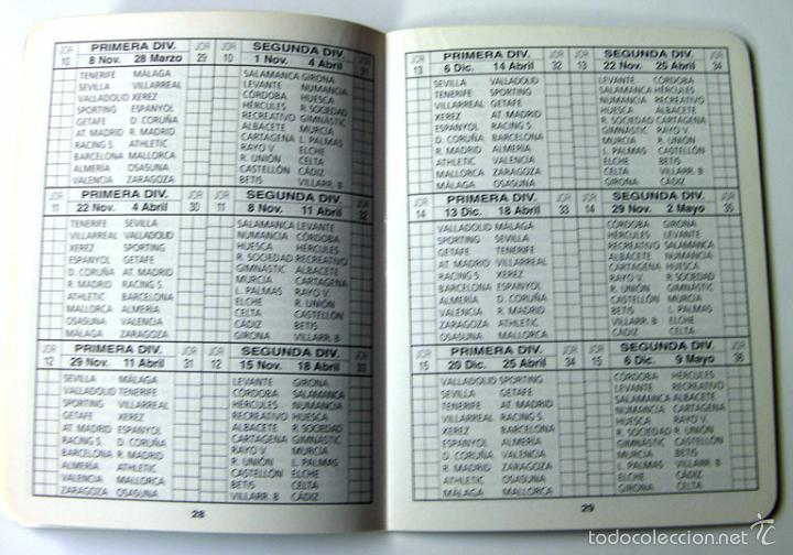 Coleccionismo deportivo: Fútbol calendario de primera y segunda división 2009-2010, 65 paginas - Foto 2 - 57285812