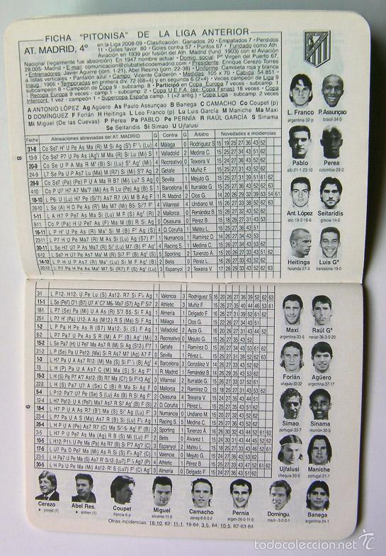 Coleccionismo deportivo: Fútbol calendario de primera y segunda división 2009-2010, 65 paginas - Foto 3 - 57285812
