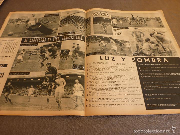 Coleccionismo deportivo: REVISTA BARÇA Nº:67(28-3-57)CELTA VIGO 0 BARÇA 2,EL CAMP NOU,OLIVELLA-FOTOS - Foto 3 - 57450065