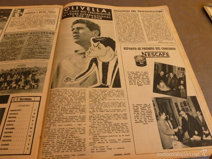 Coleccionismo deportivo: REVISTA BARÇA Nº:67(28-3-57)CELTA VIGO 0 BARÇA 2,EL CAMP NOU,OLIVELLA-FOTOS - Foto 5 - 57450065