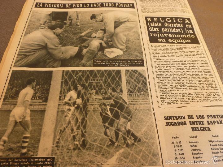 Coleccionismo deportivo: REVISTA BARÇA Nº:67(28-3-57)CELTA VIGO 0 BARÇA 2,EL CAMP NOU,OLIVELLA-FOTOS - Foto 6 - 57450065
