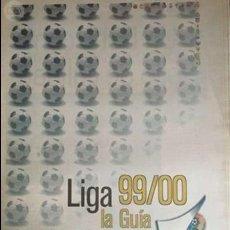 Coleccionismo deportivo: LIGA 1999 2000 LA LIGA. Lote 57435784