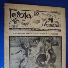 Coleccionismo deportivo: (F-1619)PELOTA LA SEMANAL , Nº 17 , 8 MARZO 1923. Lote 57490475