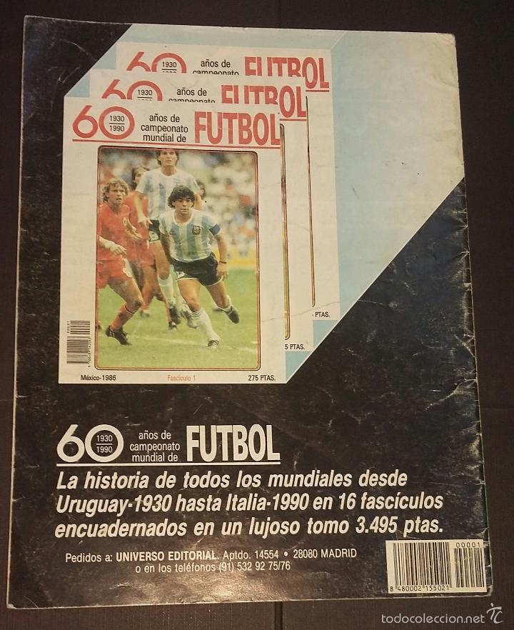 Coleccionismo deportivo: ASES DEL FÚTBOL MUNDIAL - FASCÍCULO Nº 1 - UNIVERSO EDITORIAL, S.A.- 1992 PORTADA PELÉ - Foto 3 - 57517373