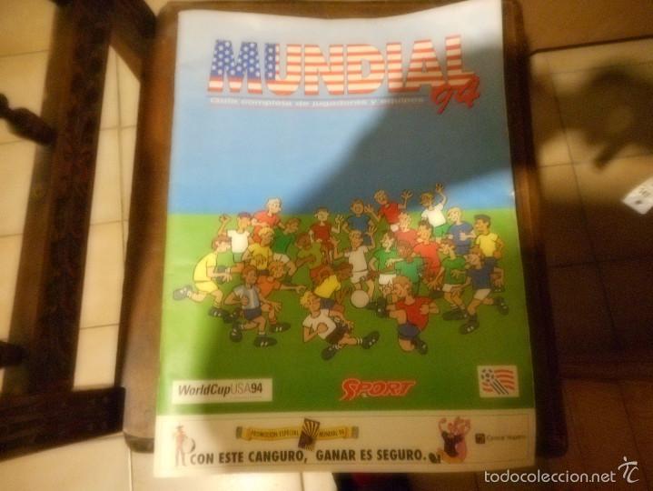 GUIA COMPLETA DE JUGADORES Y EQUIPOS MUNDIAL 94 SELECCION ESPAÑOLA (Coleccionismo Deportivo - Revistas y Periódicos - otros Fútbol)