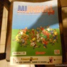 Coleccionismo deportivo: GUIA COMPLETA DE JUGADORES Y EQUIPOS MUNDIAL 94 SELECCION ESPAÑOLA. Lote 57655061