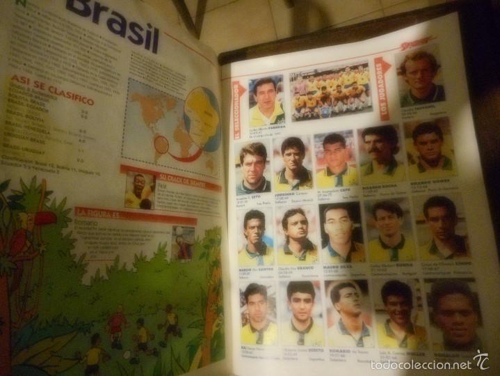 Coleccionismo deportivo: guia completa de jugadores y equipos mundial 94 seleccion española - Foto 2 - 57655061