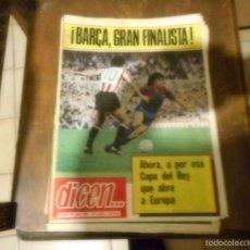 Coleccionismo deportivo: PERIODICO DICEN 5075 15 JUNIO 1981 BARÇA GRAN FINALISTA. Lote 57655144