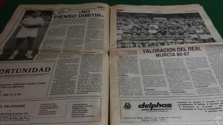 Coleccionismo deportivo: Periodico mundo año I num. 0 1986 Real Murcia . - Foto 2 - 57682910