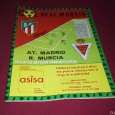 Coleccionismo deportivo: PROGRAMA GOL PARTIDO REAL MURCIA - AT. DE MADRID TEMPORADA 1981. Lote 57683170