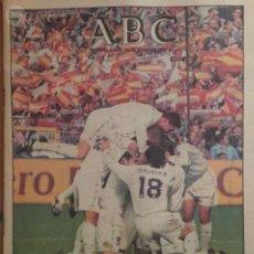 Coleccionismo deportivo: REAL MADRID CAMPEÓN 16 JUNIO 1997 ABC. Lote 57691369