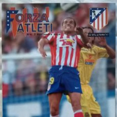 Coleccionismo deportivo: REVISTA FORZA ATLETI Nº6 - 7 NOVIEMBRE 2004 - ATLÉTICO DE MADRID SALVA BALLESTA. Lote 57810251