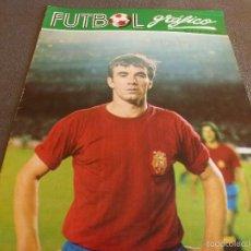 Coleccionismo deportivo: FUTBOL GRÁFICO Nº:9(31-10-72) JORNADA LIGA 1ª DIV.-TONONO(ESPAÑA Y LAS PALMAS)-SELECC.ESPAÑA-FOTOS. Lote 57916112