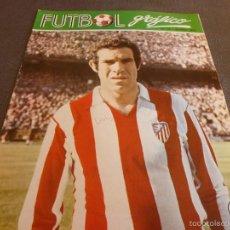 Coleccionismo deportivo: FUTBOL GRÁFICO Nº:13(28-11-72) JORNADA LIGA 1ª DIV.-LUIS ARAGONÉS(AT.MADRID)-CELTA VIGO-FOTOS. Lote 57916131