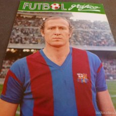 Coleccionismo deportivo: FUTBOL GRÁFICO Nº:15(12-12-72) JORNADA LIGA 1ª DIV.-MARCIAL(BARÇA)-MÁLAGA C.F.-FOTOS. Lote 57916141