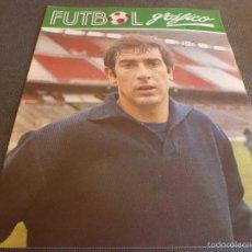 Coleccionismo deportivo: FUTBOL GRÁFICO Nº:17(2-1-73) JORNADA LIGA 1ª DIV.-DEUSTO(MÁLAGA)-ARGES PITESTI-FOTOS. Lote 57916151