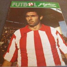 Coleccionismo deportivo: FUTBOL GRÁFICO Nº:18(9-1-73) JORNADA LIGA 1ª DIV.-QUINI(SPORTING GIJÓN)-SELECC.ARGENTINA-FOTOS. Lote 57916160