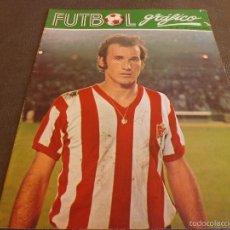 Coleccionismo deportivo: FUTBOL GRÁFICO Nº:21(30-1-73) JORNADA LIGA 1ª DIV.-PORTA(GRANADA)-FOTOS. Lote 57916221