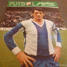 Coleccionismo deportivo: FUTBOL GRÁFICO Nº:27(13-3-73) JORNADA LIGA 1ª DIV.-GLARIA(R.C.D.ESPAÑOL)-FOTOS. Lote 57916248
