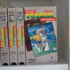 Coleccionismo deportivo: EL MEJOR FUTBOL DE LA HISTORIA VHS INTERVIU. Lote 57917906