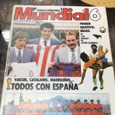 Coleccionismo deportivo: REVISTA COLECCIONABLE MUNDIAL 16 AÑO 1986. Lote 57959740