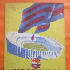 Coleccionismo deportivo: BOLETIN CLUB DE FUTBOL BARCELONA AÑO 1956 Nº 15 - FOTOS NOU CAMP. Lote 58066193