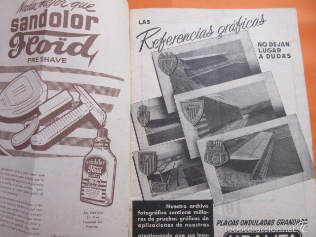 Coleccionismo deportivo: BOLETIN CLUB DE FUTBOL BARCELONA AÑO 1956 Nº 15 - FOTOS NOU CAMP - Foto 6 - 58066193