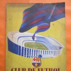 Coleccionismo deportivo: BOLETIN CLUB DE FUTBOL BARCELONA AÑO 1956 Nº 14 - FOTOS NOU CAMP. Lote 58066202