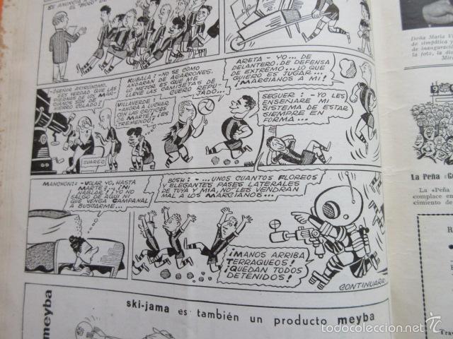 Coleccionismo deportivo: BOLETIN CLUB DE FUTBOL BARCELONA AÑO 1956 Nº 14 - FOTOS NOU CAMP - Foto 4 - 58066202