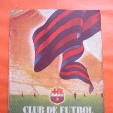 Coleccionismo deportivo: BOLETIN CLUB DE FUTBOL BARCELONA AÑO 1955 Nº 11 MAYO JUNIO - FOTOS NOU CAMP. Lote 58066233