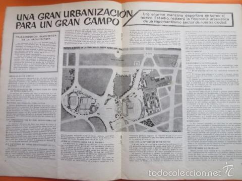 Coleccionismo deportivo: BOLETIN CLUB DE FUTBOL BARCELONA AÑO 1955 Nº 11 MAYO JUNIO - FOTOS NOU CAMP - Foto 4 - 58066233