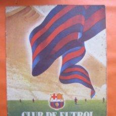 Coleccionismo deportivo: BOLETIN CLUB DE FUTBOL BARCELONA AÑO 1955 Nº 10 ABRIL - NOU CAMP. Lote 58066243