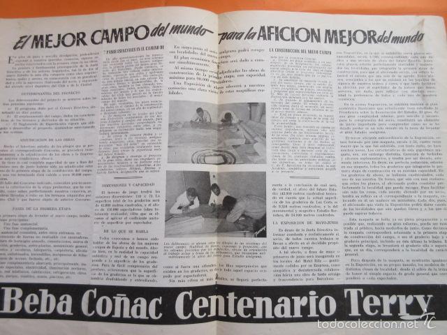 Coleccionismo deportivo: BOLETIN CLUB DE FUTBOL BARCELONA AÑO 1955 Nº 10 ABRIL - NOU CAMP - Foto 2 - 58066243