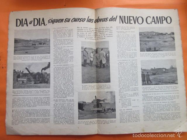 Coleccionismo deportivo: BOLETIN CLUB DE FUTBOL BARCELONA AÑO 1955 Nº 9 MARZO - NOU CAMP - Foto 3 - 58066247