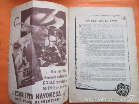 Coleccionismo deportivo: BOLETIN CLUB DE FUTBOL BARCELONA AÑO 1955 Nº 9 MARZO - NOU CAMP - Foto 4 - 58066247