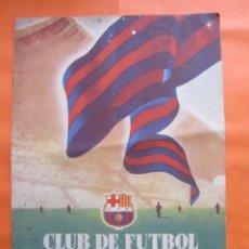 Coleccionismo deportivo: BOLETIN CLUB DE FUTBOL BARCELONA AÑO 1954 ABRIL - NOU CAMP. Lote 58066256
