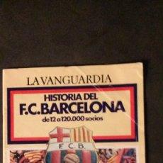 Coleccionismo deportivo: LA VANGUARDIA-HISTORIA DEL F.C. BARCELONA- DE 12 A 120.000 SOCIOS-68 PAGINAS-VER FOTOS. Lote 58095752