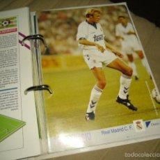 Coleccionismo deportivo: LAMINA LOS MEJORES DE LA LIGA 93 94 1993 1994 DIARIO 16 Nº 104 PROSINECKI REAL MADRID . Lote 114633735