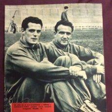 Coleccionismo deportivo: REVISTA DICEN. N-237. 27 ABRIL 1957. PORTADA GAMIZ Y CASAMITJANA. Lote 58271242
