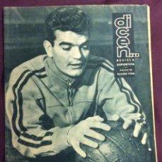 Coleccionismo deportivo - REVISTA DICEN N-381. 19 MARZO 1960.PORTADA GENSANA F.C.BARCELONA. - 58271272